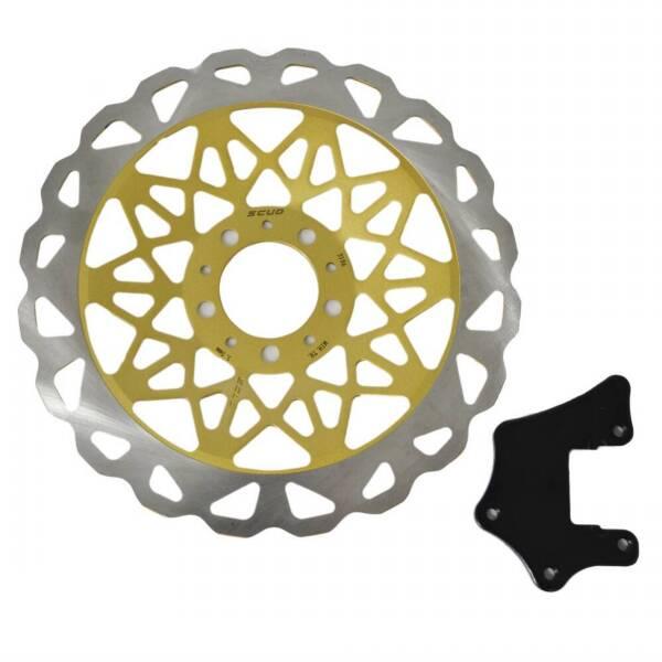 disco de freio titan fan moto scud