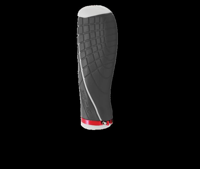 manopla concept II ergonomica cinza branco moto scud