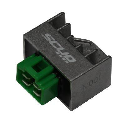 regulador de voltagem ybr factor xtz crypton moto scud