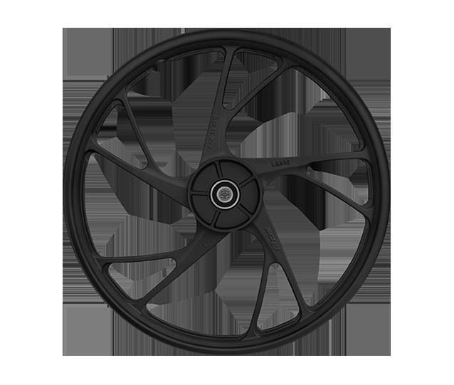 roda tubeless ex preta moto scud